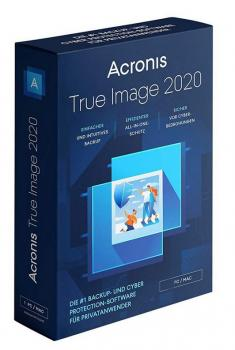 Acronis True Image 2020 Advanced - 3 Devices -  1 Year - 250 GB Acronis Cloud Storage