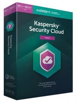 Kaspersky Security Cloud 20 Geräte - 1 Jahr