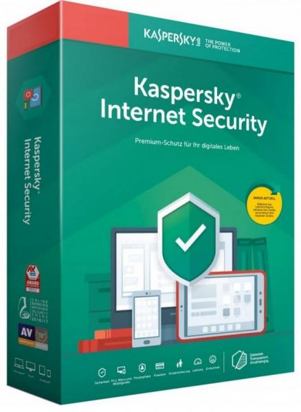 Kaspersky Internet Security 2020 - 5 Devices - 2 Years