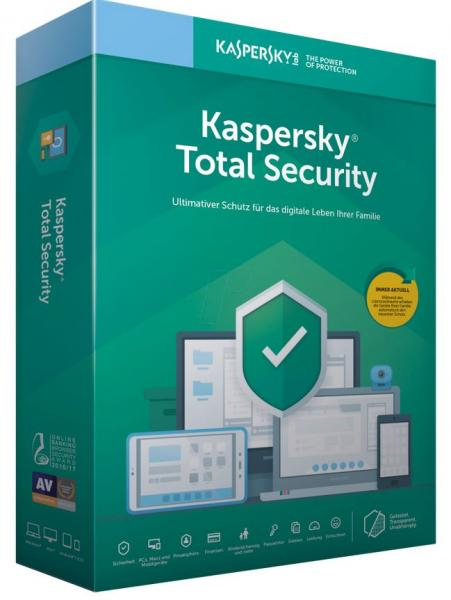 Kaspersky Total Security 2020 - 1 Device - 2 Years
