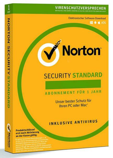 Norton Security Standard - 1 Device - 2 Years