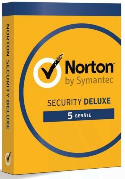 Norton Security Deluxe - 5 Devices - 1 Year